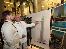 Budova, která bude vysoká 400 metrů, se inspirovala ve středověkých strážních...