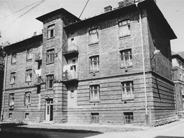 Přednádraží v roce 1989...