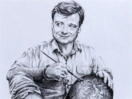 David Rath s velikonoční koulí na noze. Tak ho viděl Miroslav Vomáčka.