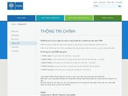 Gymnázium PORG nabízí základní informace o škole také ve vietnamštině.