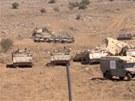 Izraelská armáda hlídá i na Golanských výšinách