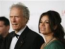 Clint Eastwood a jeho manželka Dina
