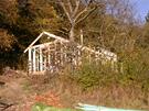 Dřevěná konstrukce domu