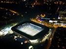 EDEN CENTREM EVROPSKÉHO FOTBALU. Aspoň na jeden večer se stal rozzářený stadion...