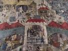 Středověká knižní iluminace vystavená v Kutné Hoře