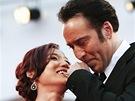 Herec Nicolas Cage s manželkou