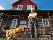 Helmut Hofer, poslední z krkonošských nosičů, žije nad Velkou Úpou.