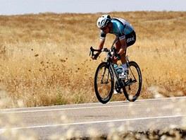 SAMOTA. Německý cyklista Tony Martin strávil v 6. etapě Vuelty dlouhých 175