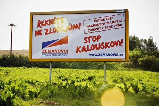P�edvolebn� billboard SPOZ