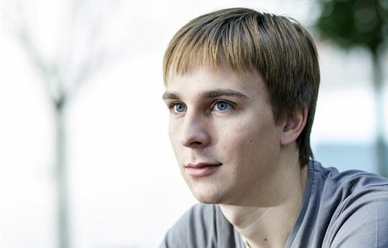Předseda Národního parlamentu dětí a mládeže Vlastimil Navrátil