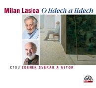 Milan Lasica (obal audioknihy)