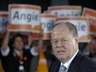 Lídr německé SPD Peer Steinbrück (1. září 2013)