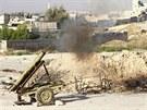 Rebelové ostřelují vojáky armády Bašára Asada(2. září)