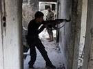 Boje v Sýrii pokračují i přes mezinárodní napětí, které vyvolalo údajné použití chemických zbraní (2. září)
