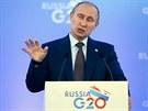 Vladimir Putin na summitu G20 (6.září)