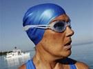 Diana Nyadov� se v Havan� chyst� na sv�j p�t� a posledn� pokus p�eplavat