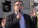 Proslov moravskoslezského volebního lídra Lubomíra Zaorálka nepostrádal