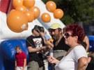 ČSSD začala turné předvolebních mítinků na Masarykově náměstí v Ostravě. (7.
