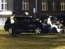Ve čtvrtek večer havaroval v Praze policejní vůz. Kolem deváté hodiny vyrazila...
