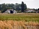 B�val� vojensk� leti�t� a vojensk� prostor v Milovic�ch.