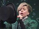 Další z převleků Lady Gaga na iTunes Festivalu v Londýně (1. 9. 2013)