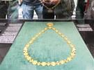 Zlatý primátorský řetěz uvidí veřejnost za 116 let jeho existence vůbec poprvé.