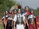 V olomoucké čtvrti Neředín v pátek dopoledne slavnostně odhalili antický