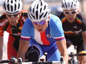 Handicapovaný cyklista Ji�í Je�ek získal na MS v kanadském Baie-Comeau st�íbro