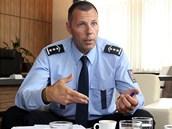 Moravskoslezský policejní ředitel Tomáš Kužel.