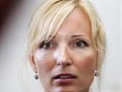 Petra Paroubková navštívila soudní jednání s Davidem Rathem