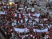 Protesty v Tunisku (7. 9. 2013