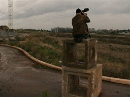 Z natáčení filmu Sacro GRA