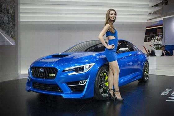 Video: IAA 2013 - Subaru WRX p�ekvapilo designem