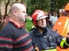 Na zásah hasičů se do Havířova přijel podívat i ministr vnitra v demisi Martin...