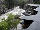 Záplavy v Coloradu si vyžádaly několik obětí  (14. září 2013)