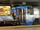 Tramvajová zastávka Jírova v Brně-Líšni