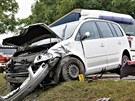 Smrtelná nehoda na hlavním tahu z Brna do Svitav.