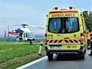 Smrtelná nehoda na hlavním tahu z Brna do Svitav. Řidiče z červeného auta...