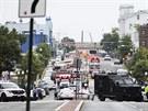 V budově amerického vojenského námořnictva ve Washingtonu se střílelo (16. září)