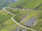 Horská etapa cyklistické Vuelty