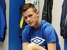 Fotbalista FK Teplice Egon Vůch
