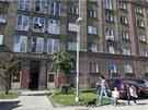 Dům sváru. Ubytovna na Čujkovově ulici 40 v Ostravě-Zábřehu.
