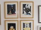 Policie odhalila a zadržela padělatele obrazů známých malířů.