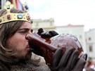Lidé na vinobraní vypili na sto tisíc litrů vína. Krom pro Znojemsko typických...