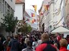 I když deštivé počasí slavnostem vína příliš nepřálo, ulice Znojma byly zejména...