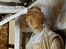 Ve zdobném prostoru se nacházejí díla sochařů Stanislava Suchardy a Ladislava...