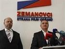 Zemanovci oznamují, kdo za ně bude kandidovat v předčasných volbách. U...