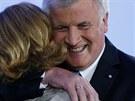 Vítěz bavorských zemských voleb, bavorský premiér a šéf CSU Horst Seehofer