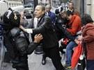 Mexická policie potlačila v hlavním městě protesty učitelů.