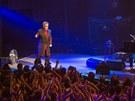 Záběr z londýnského koncertu Eltona Johna v rámic iTunes festivalu